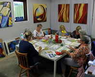 Workshop aquarel thuis in Arum